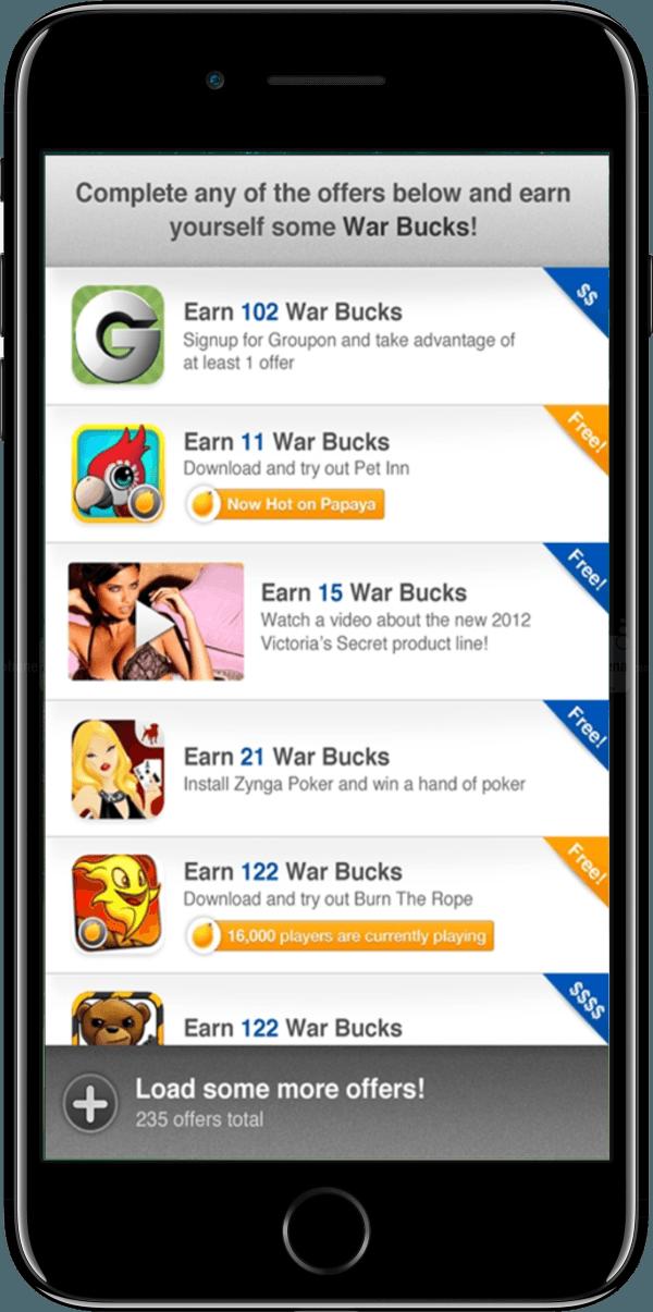 rewarded ads