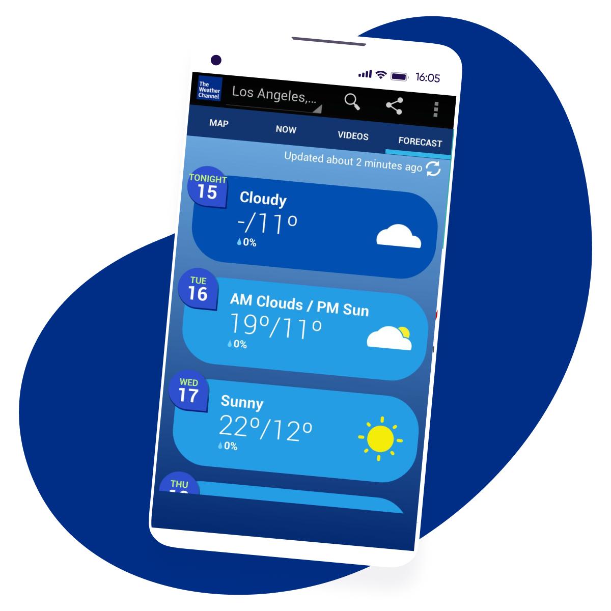 Weather Channel AppsFlyer Customer