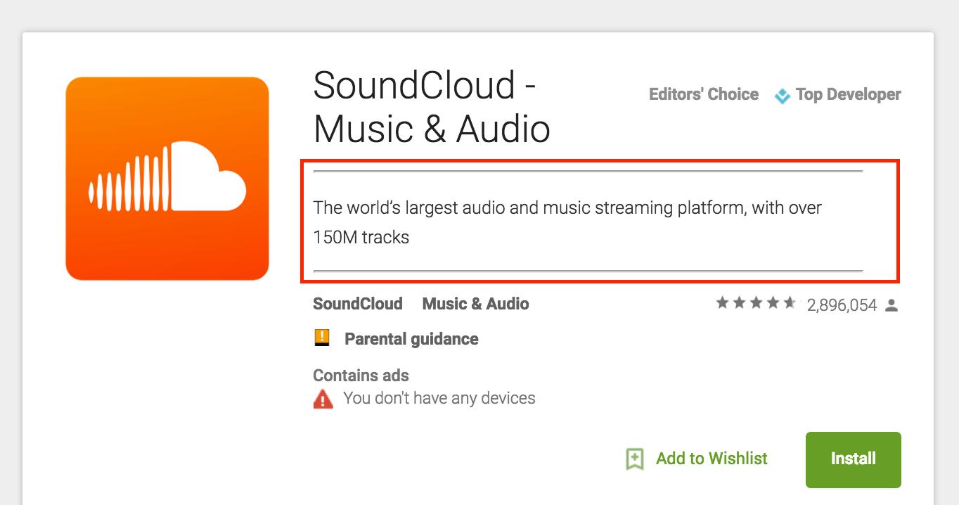 soundcloud ASO