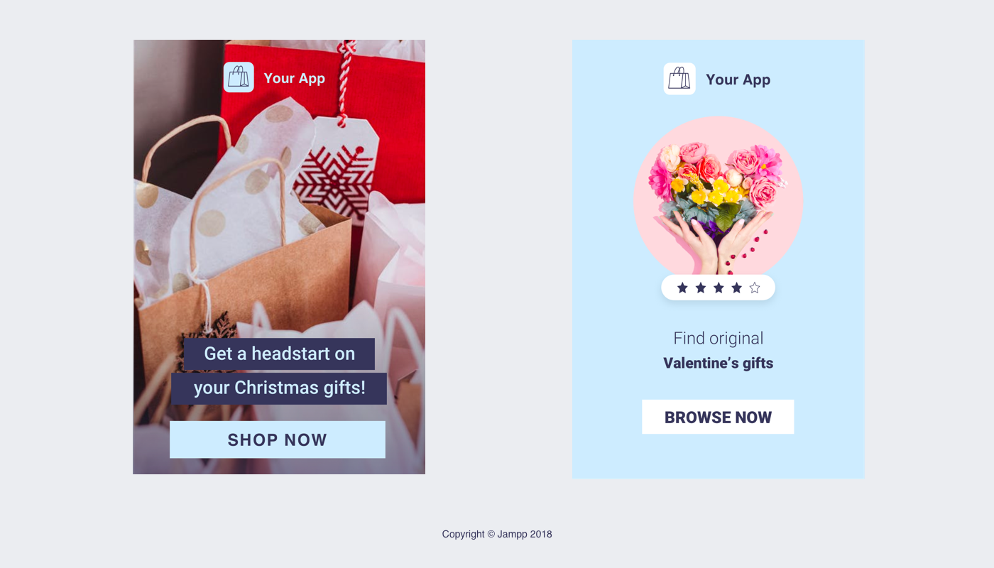 app remarketing holidays and other special dates