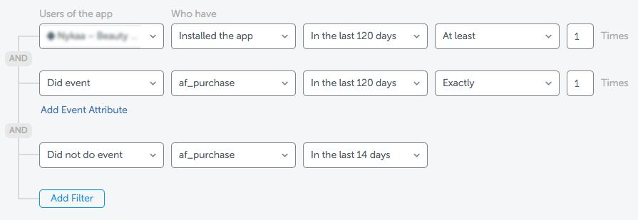 Advanced Audience Segmentation - AppsFlyer