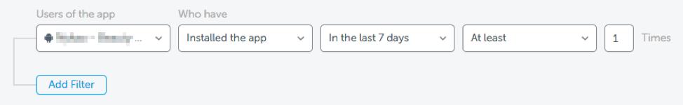 Layering Logic - AppsFlyer's Audiences