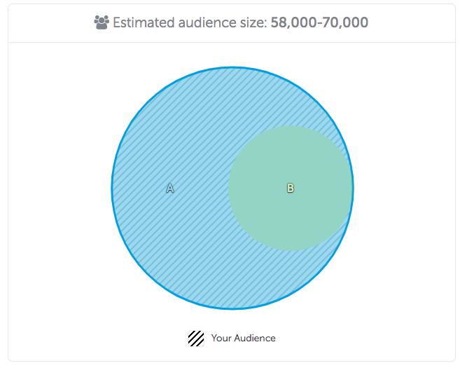 AppsFlyer's Audiences Venn DIagram