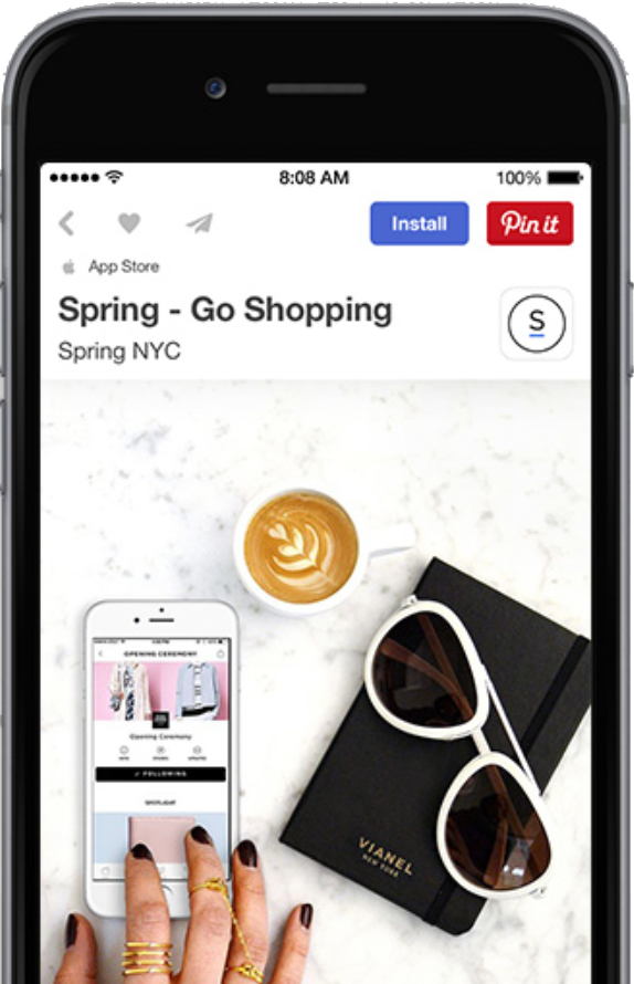 cost reporting for Pinterest
