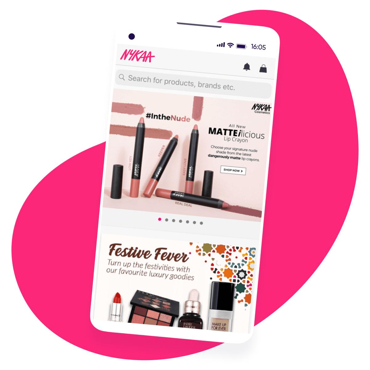 Nykaa AppsFlyer Customer