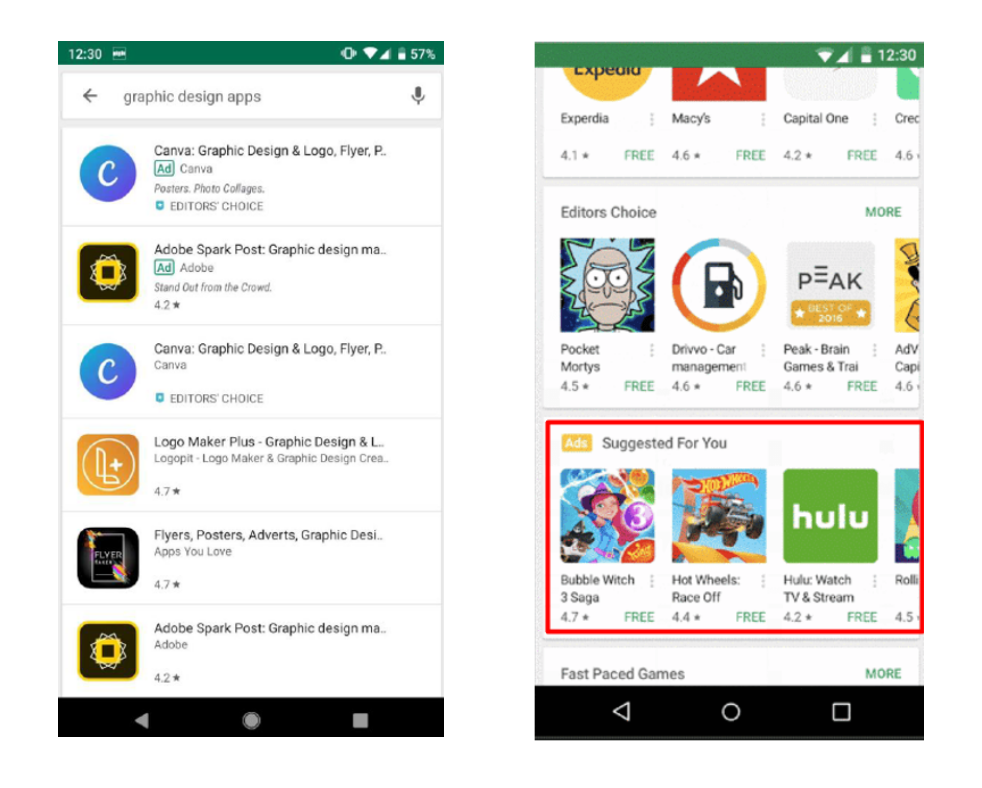 suggested app collections