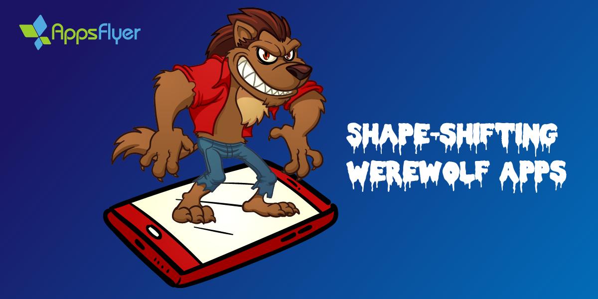 Shape-shifting werewolf apps