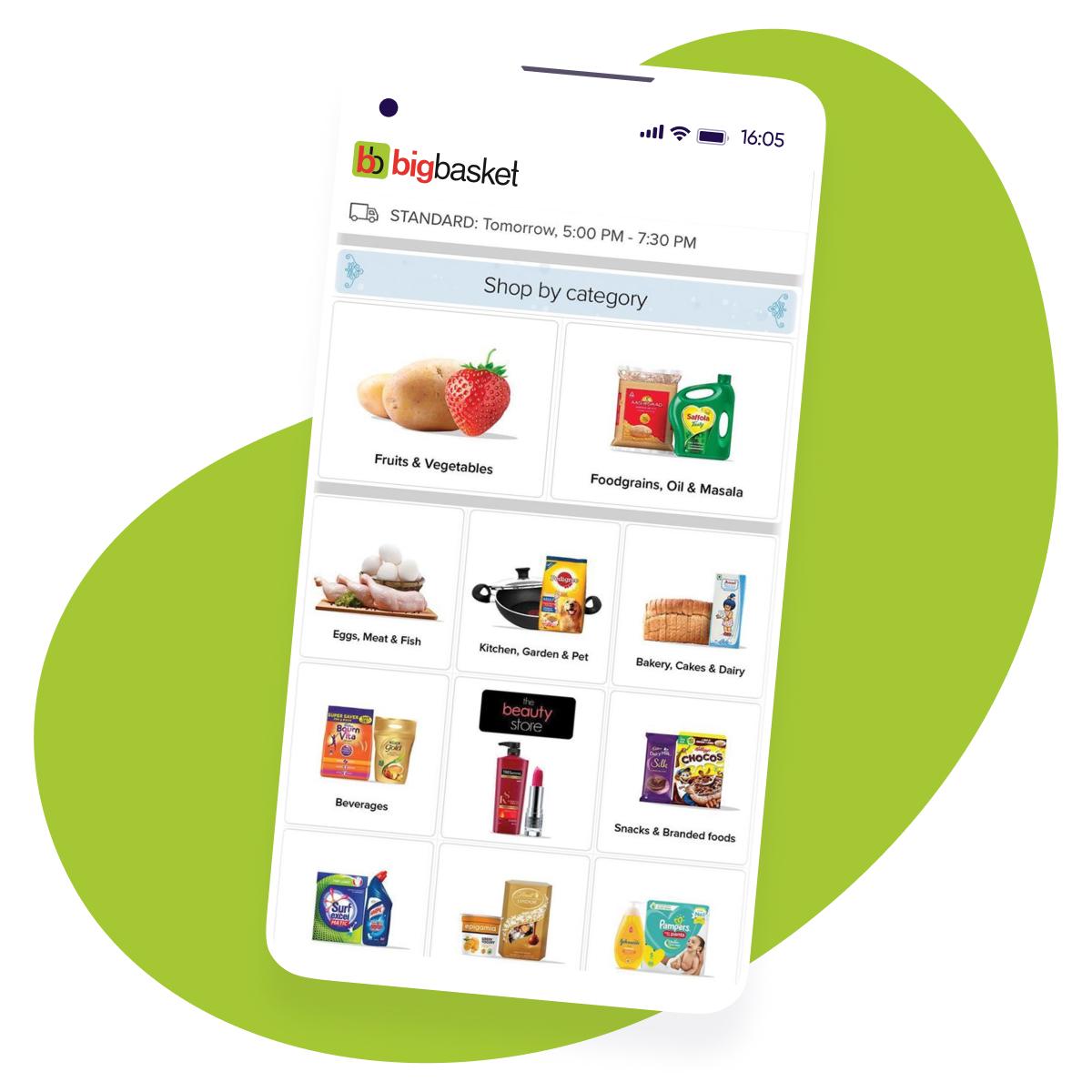 Big Basket AppsFlyer Customer