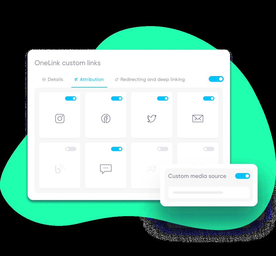 Custom links - AppsFlyer product