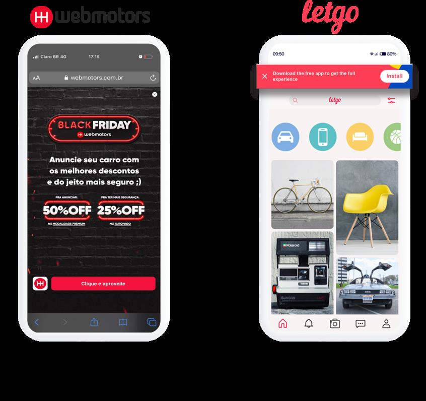 LetgoとWebmotorsのWeb-to-App