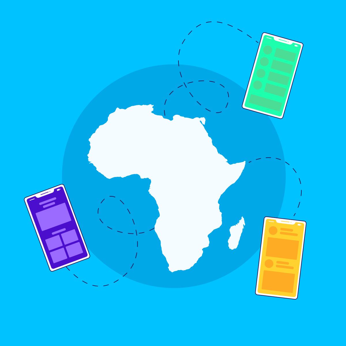 app marketing strategy africa