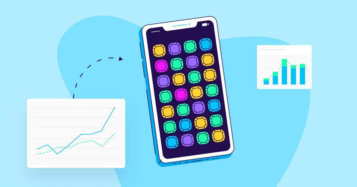 gaming app marketing metrics - OG