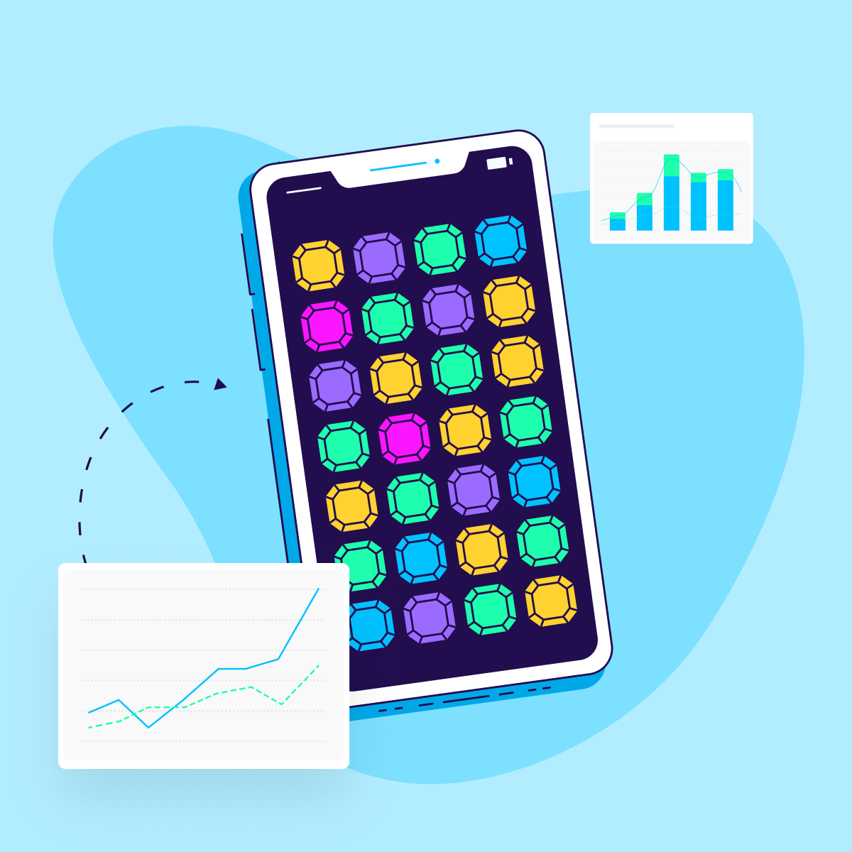 gaming app marketing metrics