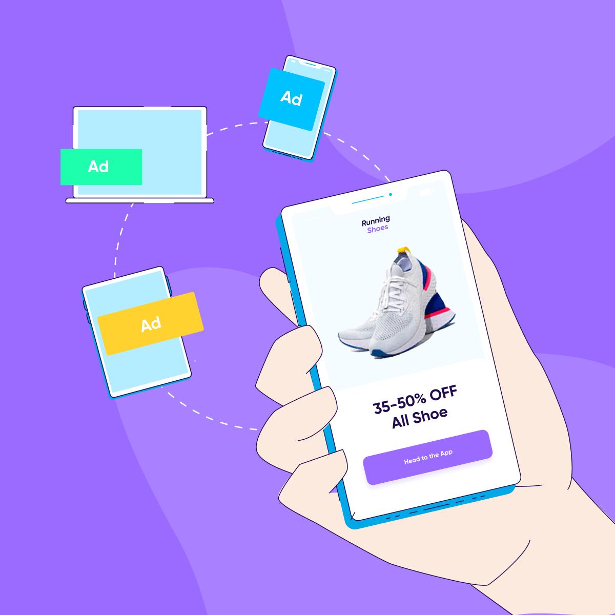 shopping app marketing remarketing