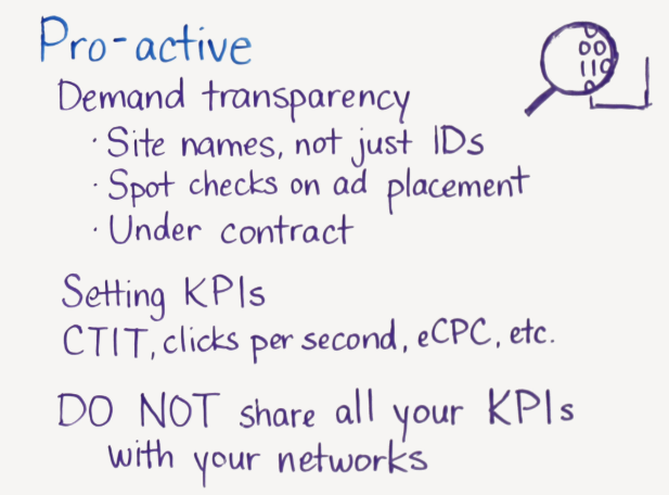 proactive approach to ad fraud