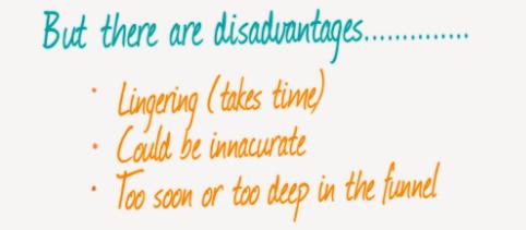 disadvantages of standard event optimization