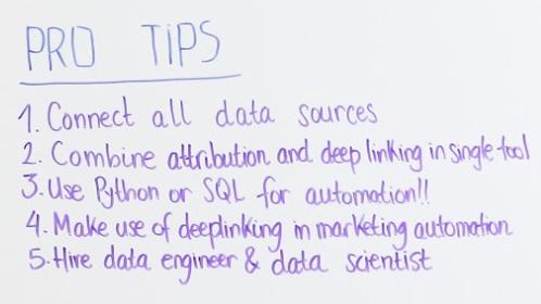 marketing tech stack pro tips