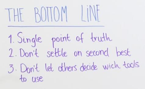 marketing tech stack: the bottom line