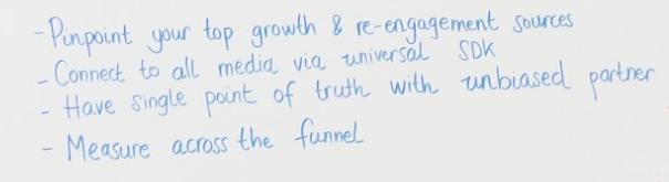 marketing tech stack whiteboard