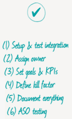 soft launch checklist