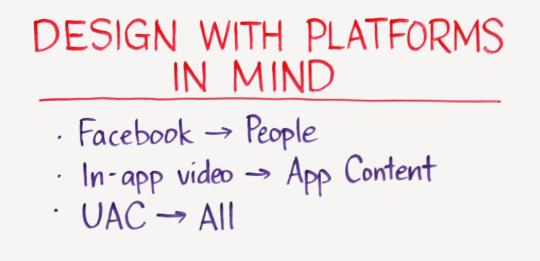 designing video ads