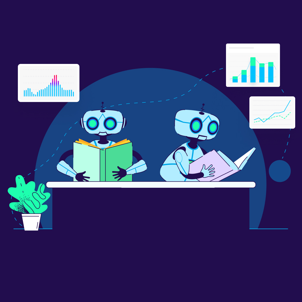 machine learning digital marketing - Square