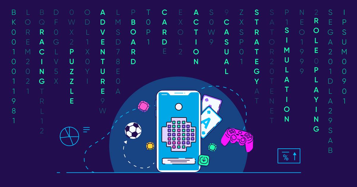 mobile gaming genre affinity - OG