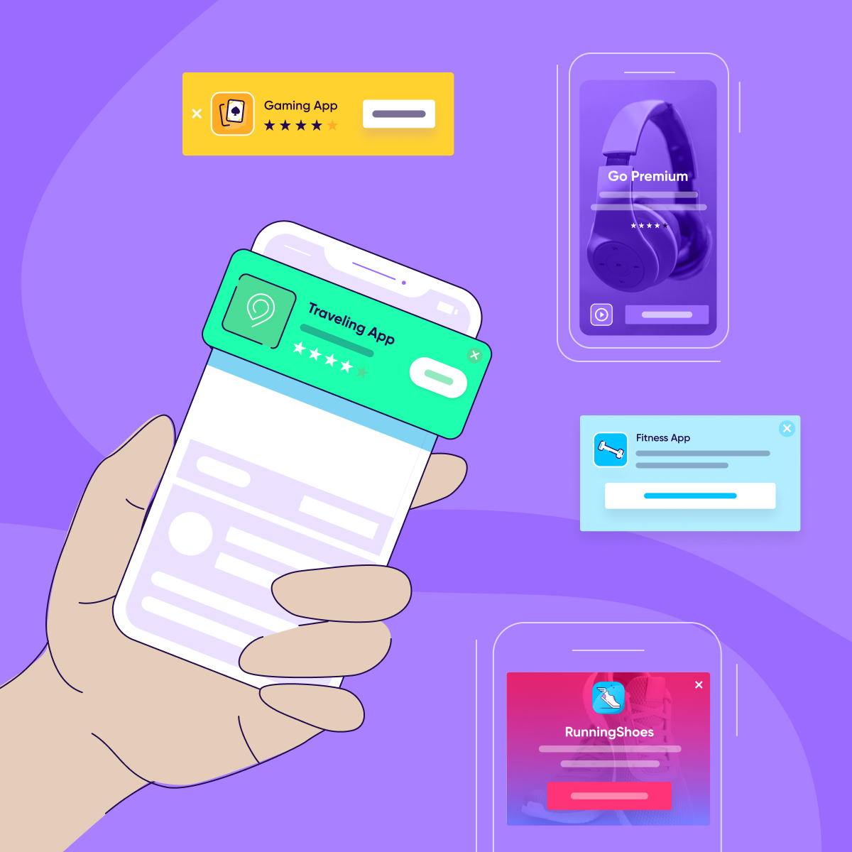 smart banners customer journey - Square