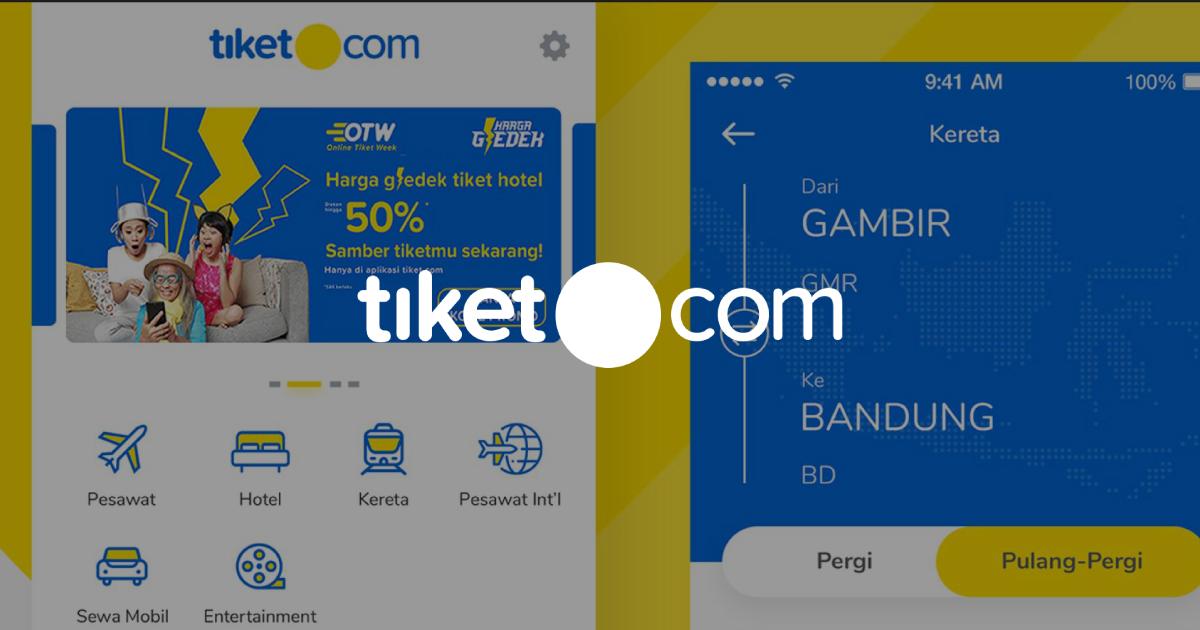 tiket com success story - OG