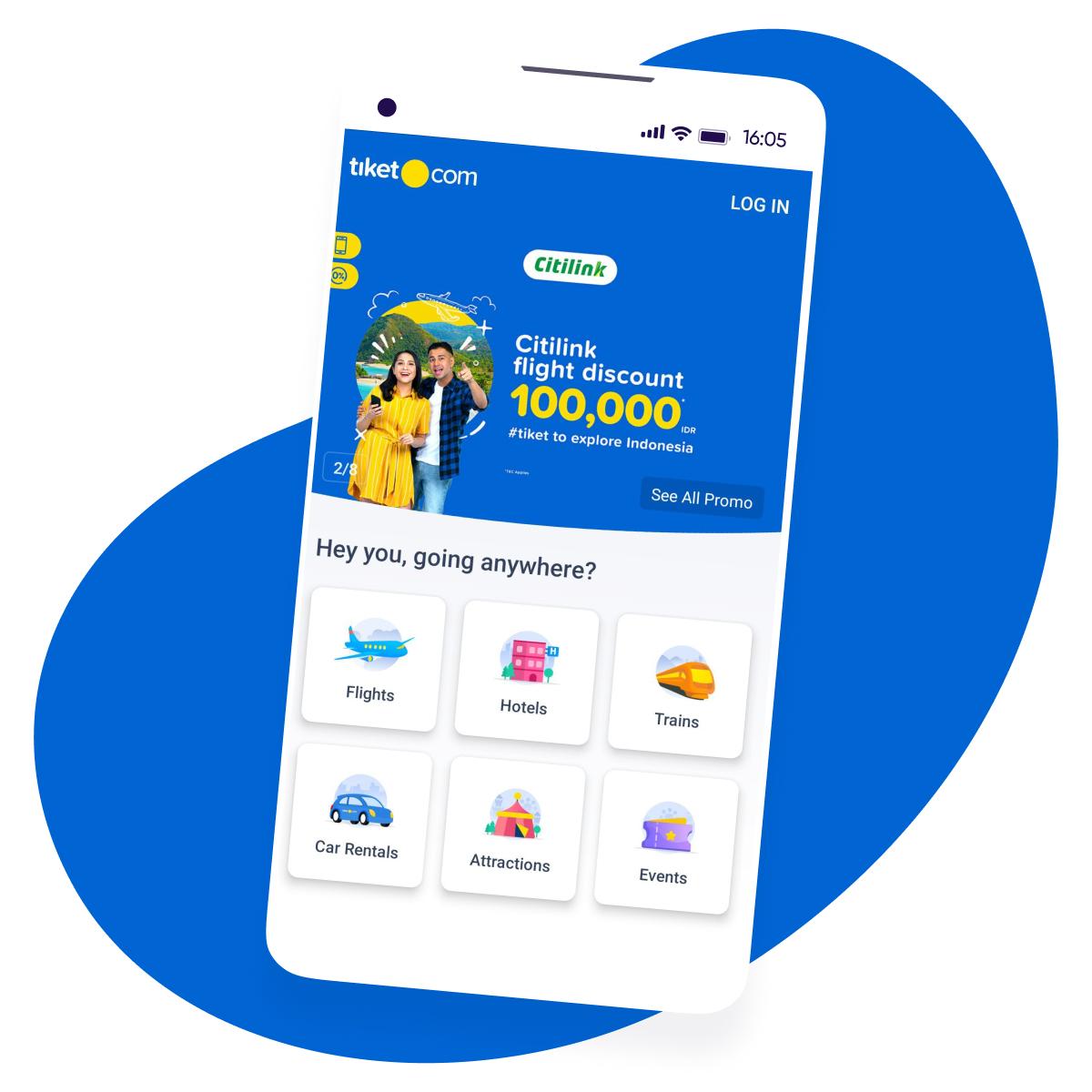 tiket com success story - Square