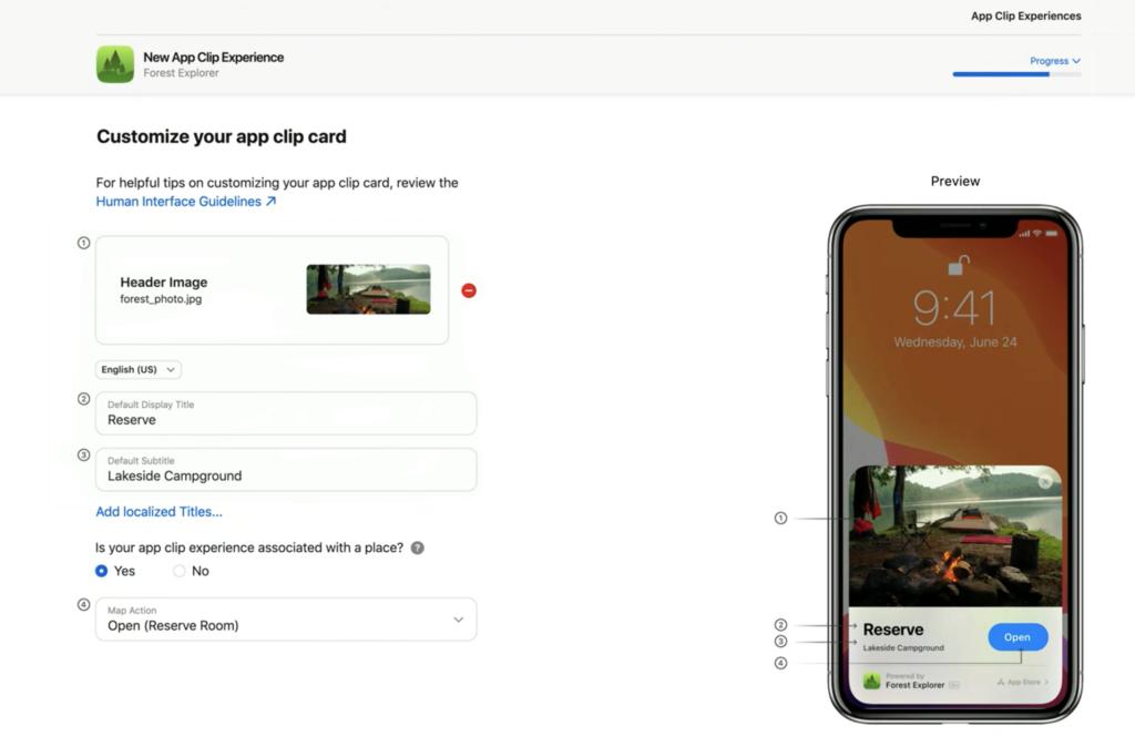 advanced app clip experience