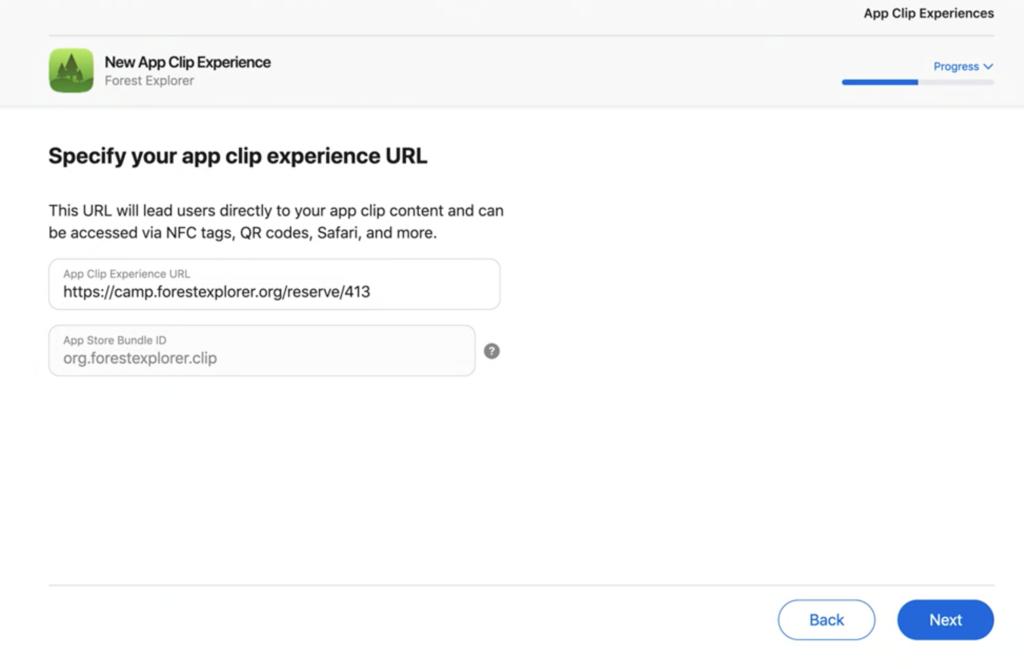 new app clip experience