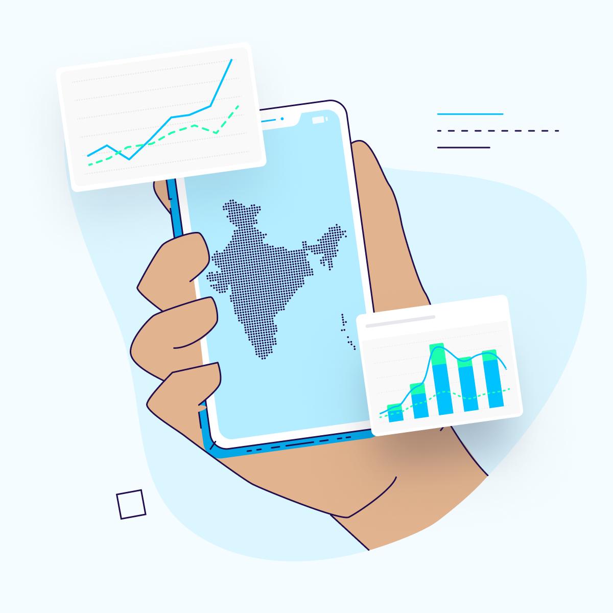 app user acquisition india - square