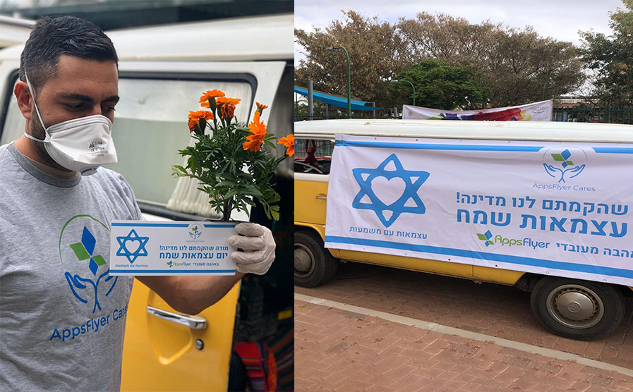 AppsFlyer COVID-19 response for independence day in Israel
