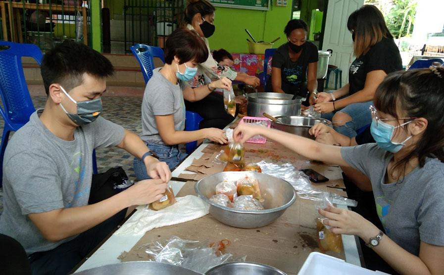 AppsFlyer COVID-19 response volunteering in Bangkok