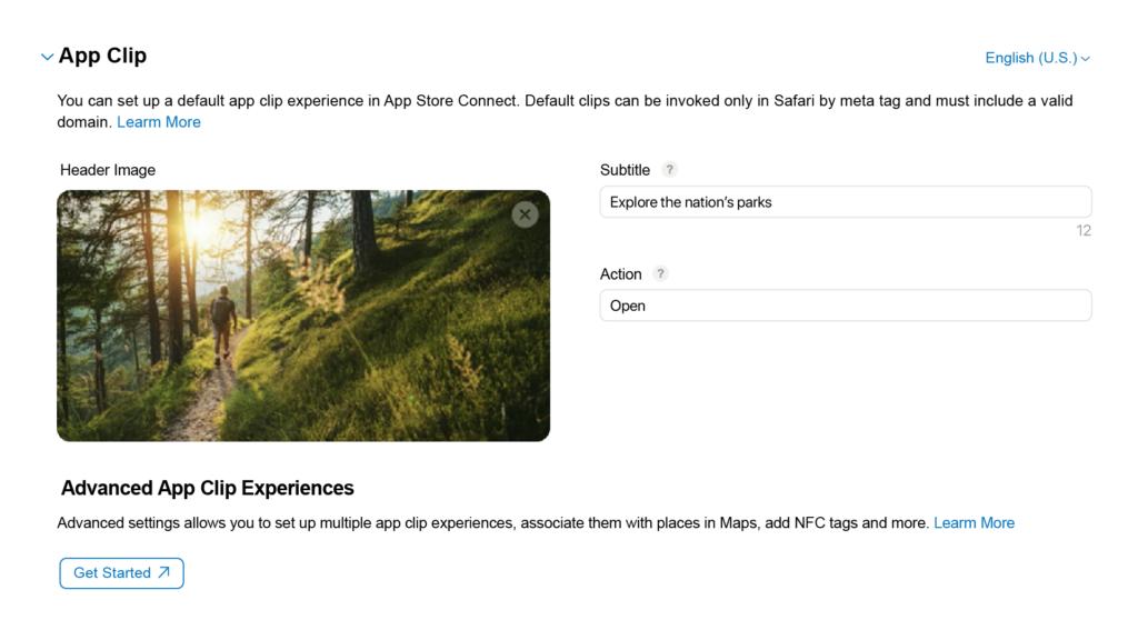 app clip experience