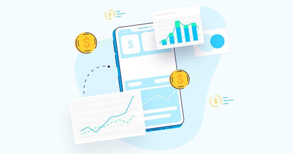 finance app marketing global