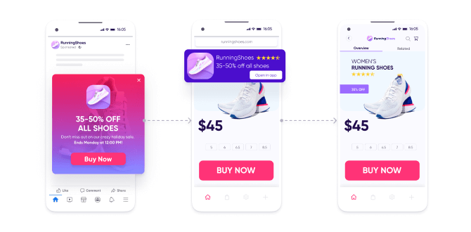 ROX guide - Journey #1   Web-to-app