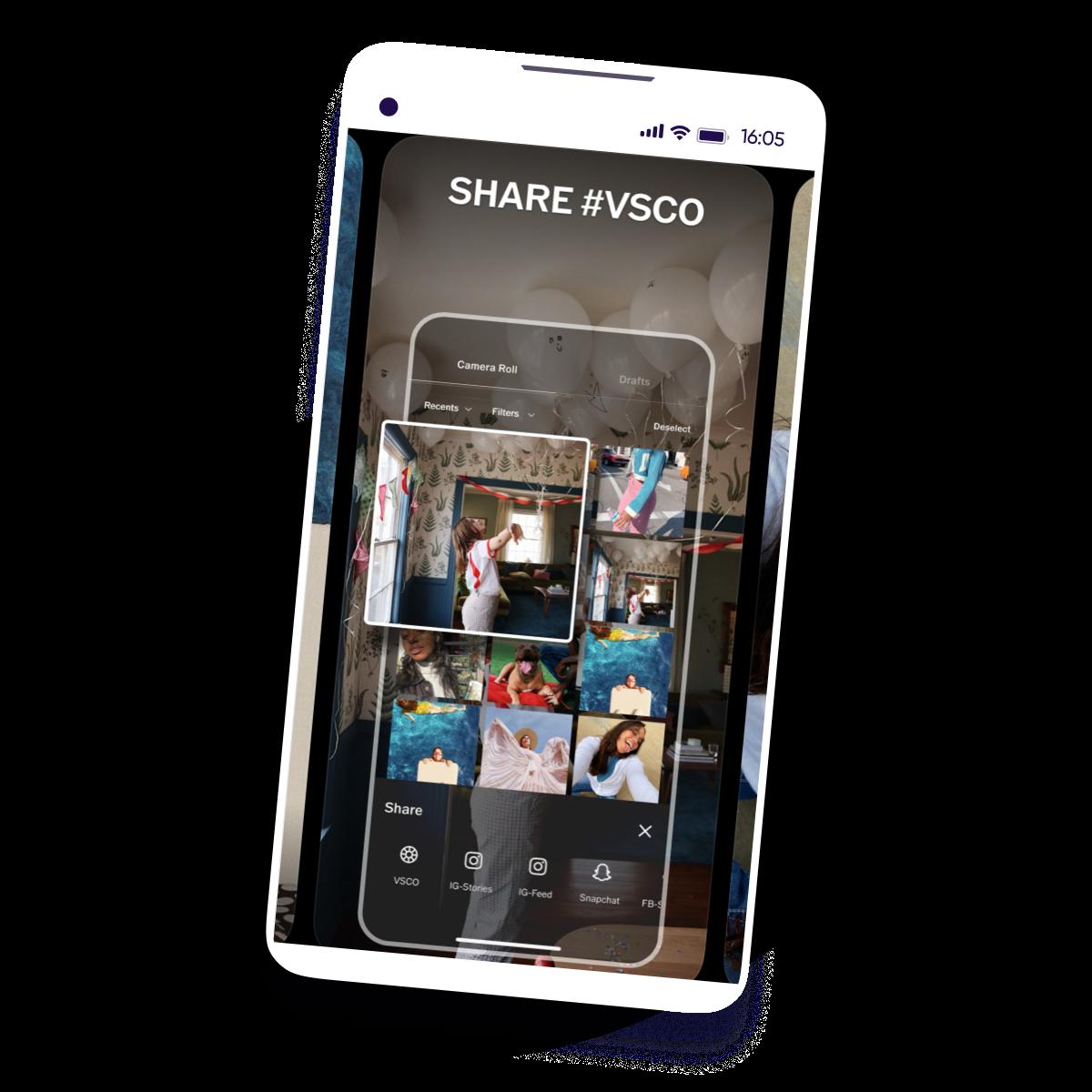 VSCO - customer success story - square