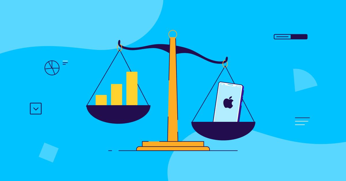 ATT opt-in rate vs. IDFA rate gap - OG