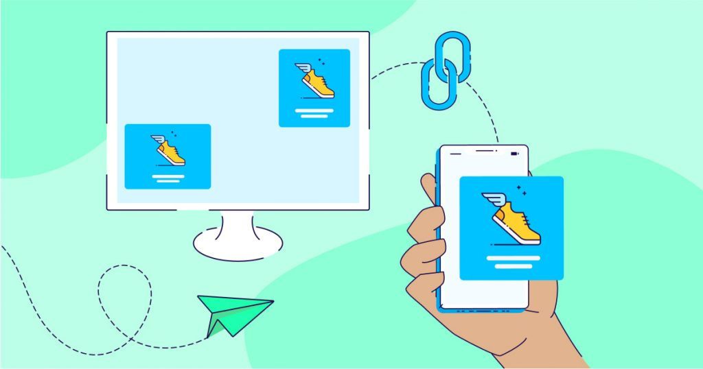 App engagement and deep linking