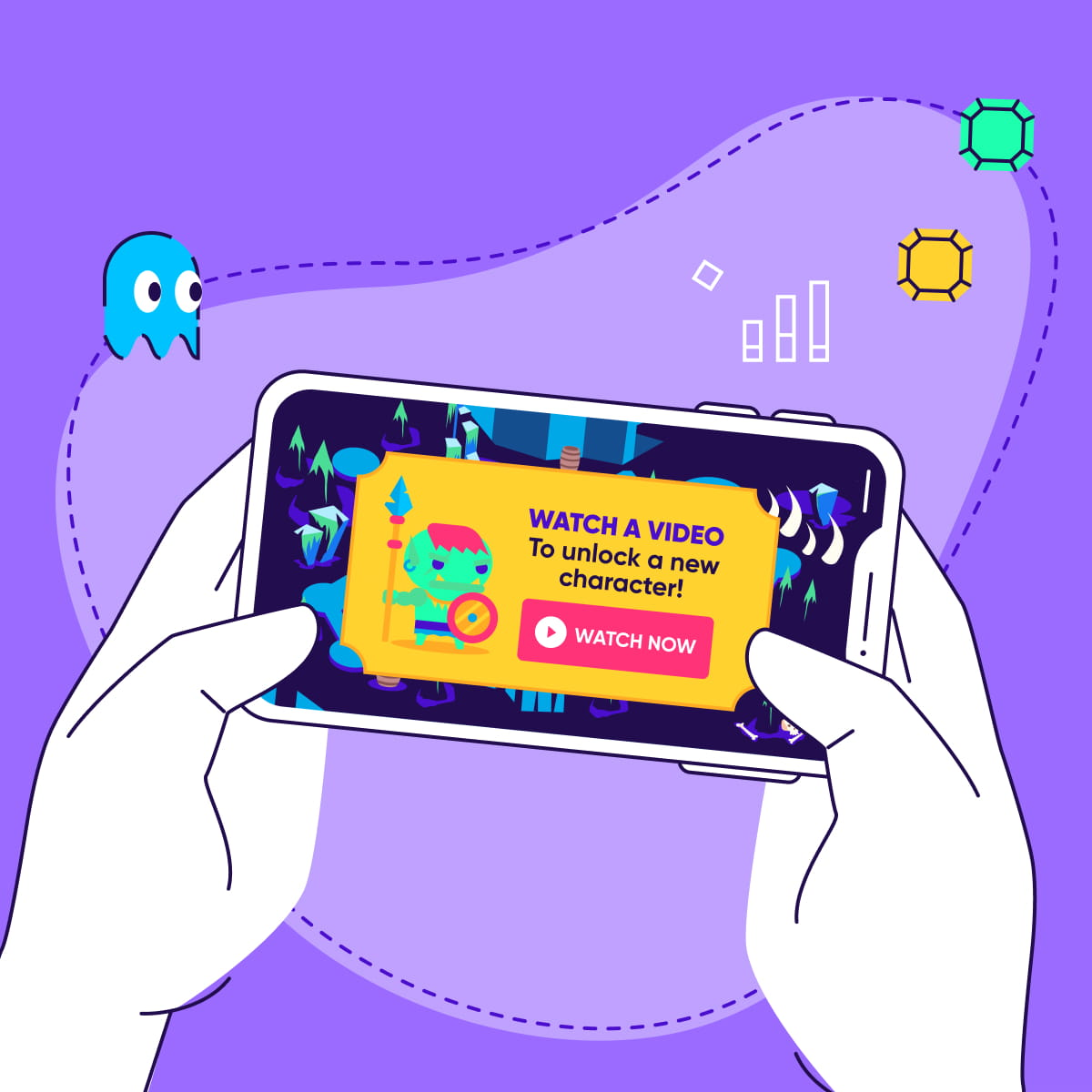Mobile game ads featured - square